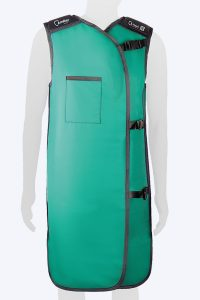 Radiation protection lead lined coat apron