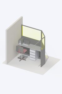 X-Ray protective Control Booth